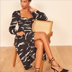 Reformation Pratt pattern dress